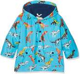 Hatley Big Boys' Classic Printed Rain Jacket