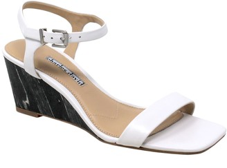 Charles by Charles David Charles David Leather Adjustable Wedge Sandals- Transform