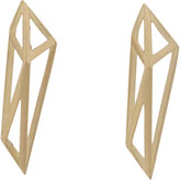 Monique Péan Women's Gold Geometric Drop Earrings