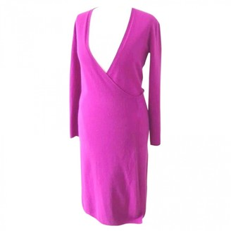 Allude Pink Cashmere Dress for Women