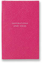 Smythson Panama Inspirations and Ideas Leather Notebook