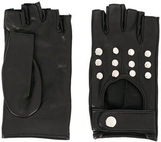 Manokhi Fingerless Driving Style Gloves