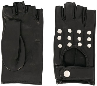Manokhi Fingerless Driving Style Gloves