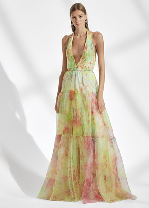 Ralph Lauren Verona Floral Organza Dress