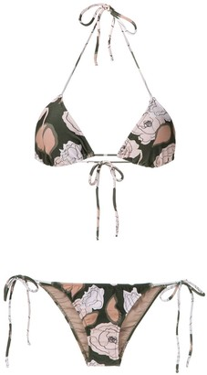 Adriana Degreas printed bikini set