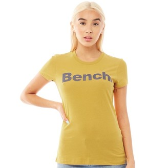 Bench Womens Mirage T-Shirt Mustard