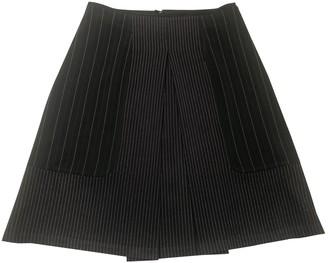 Erotokritos Black Wool Skirt for Women
