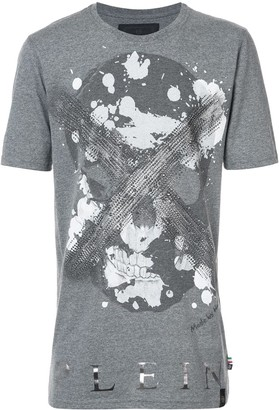 Philipp Plein Daylight Black Cut T-shirt