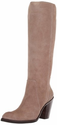 LFL by Lust for Life Women's L-Jordan Fashion Boot Taupe Suede 6 M US