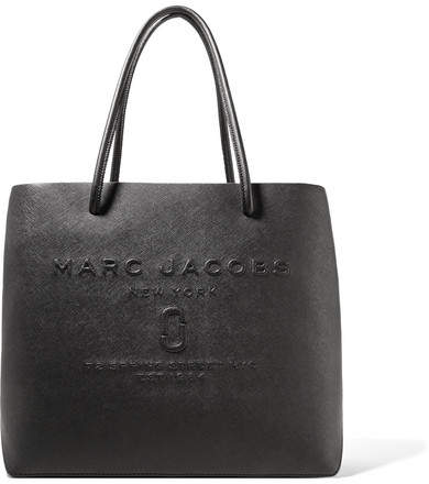 Marc Jacobs Embossed Textured-leather Tote