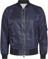 Valentino Rockstud Unlimited Bomber Jacket