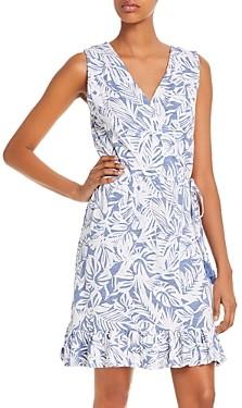 Tommy Bahama Sleeveless Palm Print Dress
