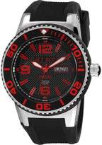 Jet Set J 55454-867-Wb30 Unisex Watch Analogue Quartz Black Rubber Strap Black Dial