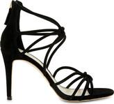 Sandro Ella suede heeled sandals