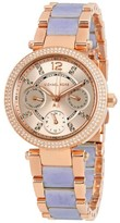 Michael Kors MK6327 Rose Gold Stainless Steel with Rose Gold Dial 34mm Womens Watch