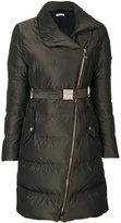 Versace zipped down coat
