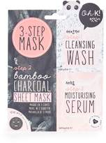 Topshop Three Step Charcoal Sheet Mask