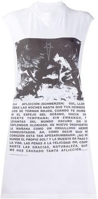 Rick Owens Graphic-Print Tank Top