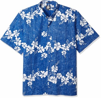 Reyn Spooner Men's 50th State Flower Button Down Shirt