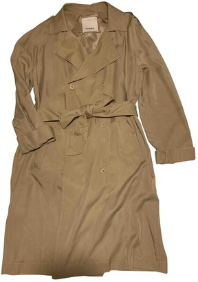 Pinko Camel Trench Coat for Women