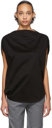 Issey Miyake Black Unique T-Shirt
