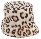 Roberto Cavalli Girls' Leopard Print Bucket Hat