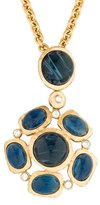 Kenneth Jay Lane Crystal & Glass Pendant Necklace