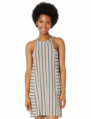 RVCA Junior's Bailey Stripe Swing Dress