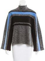 Tibi Wool Striped Sweater