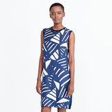 Ralph Lauren Printed-Front Sweater Dress