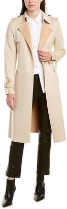 Stella + Lorenzo Adrianna Trench Coat