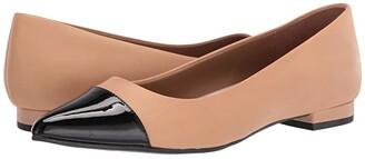 Aerosoles Farmingdale (Black Leather) Women's Shoes