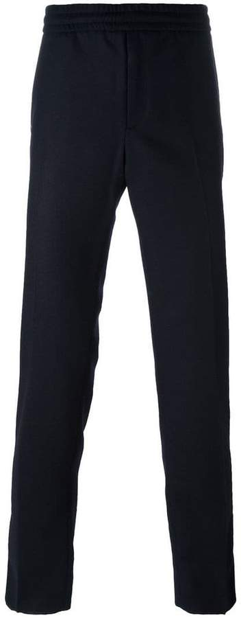 Moncler classic straight leg trousers