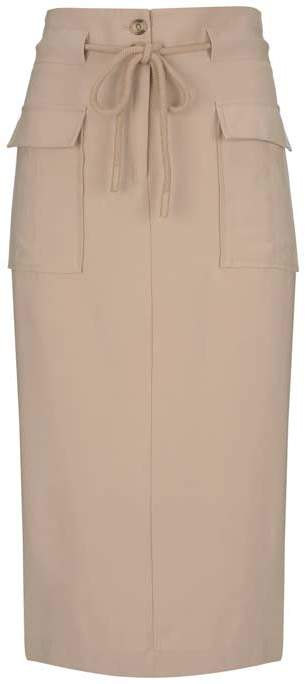 aaa5128ac4 Neutral Pencil Skirt - ShopStyle UK