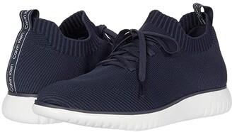 Calvin Klein Thornton Knit (Dark Navy/Light Navy) Men's Shoes