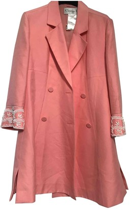 Christian Dior Pink Silk Jackets
