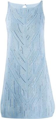 Ermanno Scervino fine knit mini dress