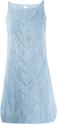 Ermanno Scervino Fine Knit Mini Dress