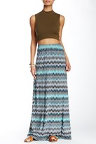 Loveappella Printed Maxi Skirt