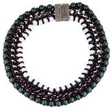 Proenza Schouler Ladder Lacquered Beads Necklace