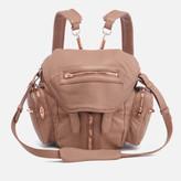 Alexander Wang Women's Mini Marti Latte Washed Leather Backpack - Latte