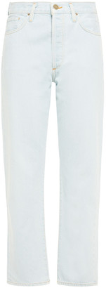 Gold Sign Nineties High-rise Straight-leg Jeans