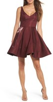 Xscape Evenings Women's Shimmer Fit & Flare Dress