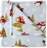 North Pole Trading Co.TM Velvet Plush Holiday Throw
