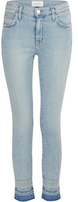 Current/Elliott The Stiletto high-waisted jeans