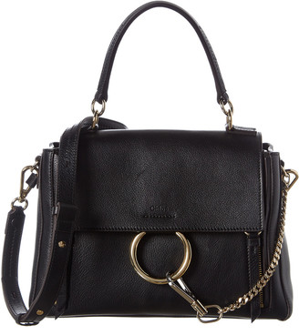 Chloé Faye Day Small Leather Shoulder Bag