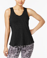 Calvin Klein Cotton Side Lace-Up Tank Top