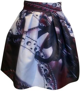 Mary Katrantzou Burgundy Polyester Skirts