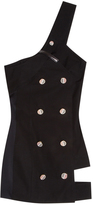 Anthony Vaccarello Buttoned Dress