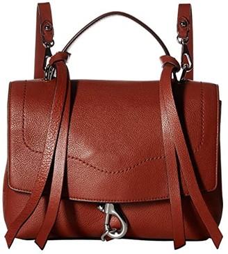 Rebecca Minkoff Stella Medium Convertible Backpack (Acorn) Backpack Bags